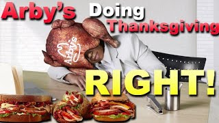 Arby's is Doing Thanksgiving Better Than Your Mom! - Arby's Deep Fried Turkey Sandwiches