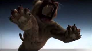 Smilodon vs american lion