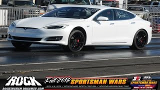 Tesla P100D Takes Over Multiple Drag Racing Classes!
