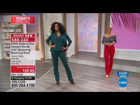 HSN | IMAN Global Chic Fashions 02.24.2018 - 10 PM