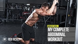 Rob Riches Complete Ab Workout(British-born cover model, Rob Riches, shows his complete six pack workout to target the entire abdominal section. ▻CLICK 'SHOW MORE' TO SEE FULL AB ..., 2011-09-23T14:05:49.000Z)