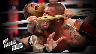 Weapon-enhanced submission moves: WWE Top 10