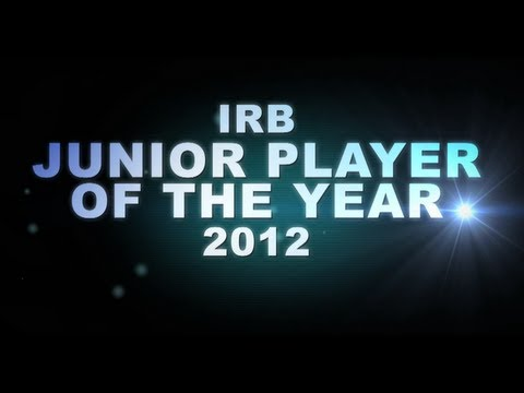 IRB Junior Player of the Year 2012 nominees!