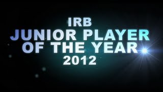 irb junior player of the year 2012 nominees