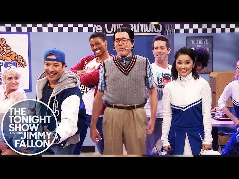 Jimmy Fallon Got Bryan Cranston & Lana Condor Singing