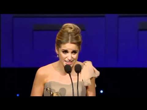 Amy Huberman - Best Actress for Rewind - IFTA Winner 2011
