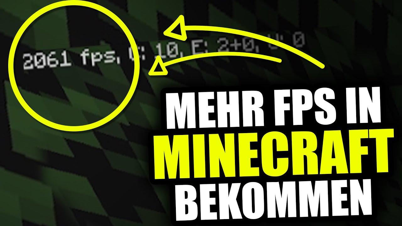 Mehr FPS in Minecraft 1.9.4 / 1.10.2 / 1.11 ☆ 2000 FPS BOOST ...