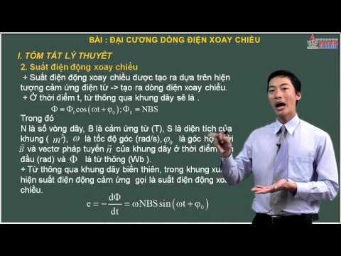 Vật lý 12 - Dòng điện xoay chiều - Đại cương dòng điện xoay chiều - Cadasa.vn