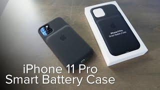 iPhone 11 Pro Smart Battery Case unboxing
