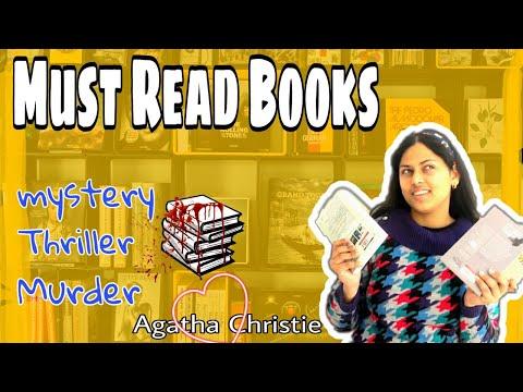 Best MURDER/MYSTERY novels| MUST READ BOOKS| Agatha Christie| Thriller genre| SHUKLA SISTERS