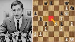 Can you Find the Move Bobby Fischer used to Crush Benko?