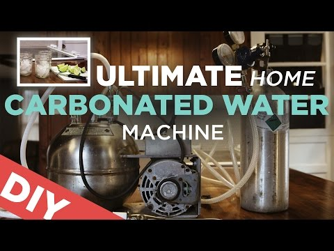 Ultimate Home Carbonated Water Machine | SodaStream KILLER!
