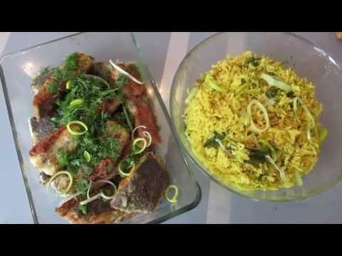 Как вкусно приготовить рис с рыбой