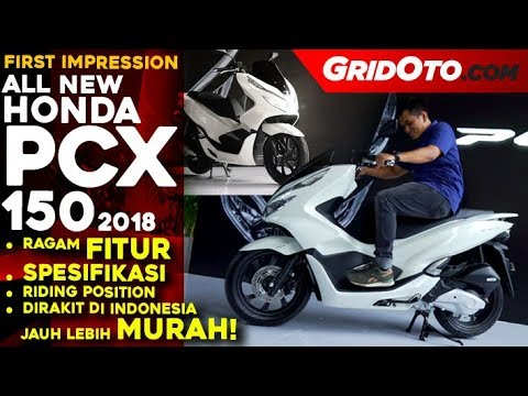 All New Honda PCX 150 2018 Indonesia l First Impression Review l GridOto