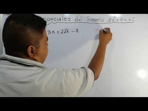 Caso Especial Del Trinomio De La Forma Ax2+bx+c #4