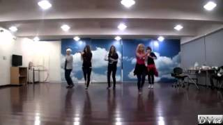 f(x) - Gangsta Boy (dance practice) DVhd