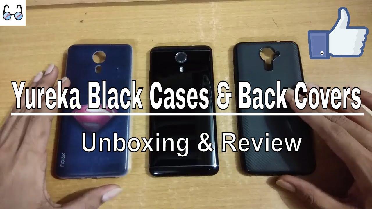 outlet store 63b9c 4d80b YU Yureka Black Back Covers & Cases | Unboxing & Review ...🙂