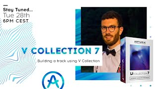 Live Workshop | Building a Detroit Electro inspired track using V Collection (with Baptiste Le Goff)