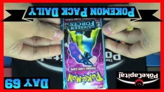 Pokemon Pack Daily EX Unseen Forces Booster Opening Day 69