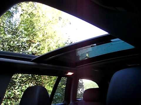 Bmw E61 E53 Dual Sunroof Moonroof Panoramic Roof Youtube
