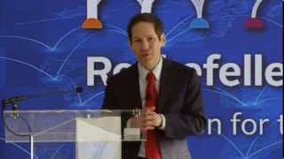 Innovation Forum 2013, Building Urban Resilience - Dr. Tom Frieden