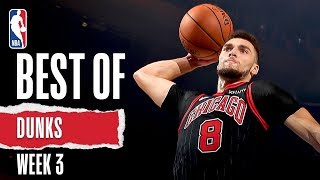 NBA's Best Dunks | Week 3 | 2019-20 NBA Season