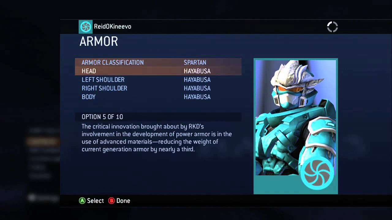 """How to Customize Your """"Halo 3"""" Spartan : """"Halo"""" Tips - YouTube"""