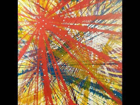 """Abstract Painting Art Demo - """"Life Lines 21 (Shifted Perspectives)"""" Embrace The Matrix"""