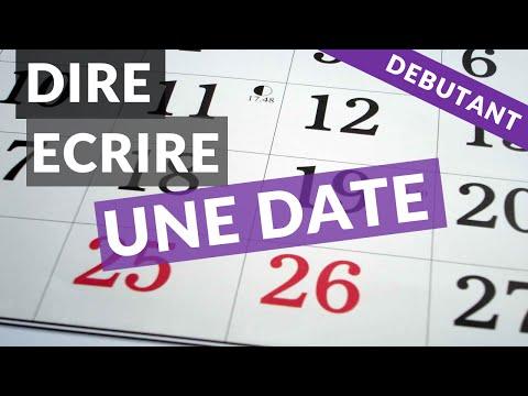 Comment Dire Une Date En Anglais A L Ecrit Et A L Oral