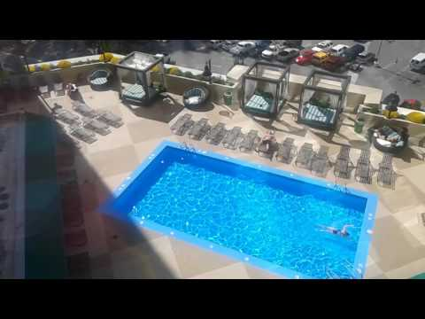 Swimming pool at Silver Legacy