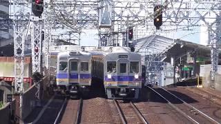 2018.5.24 南海電鉄 6200系 + 6300系   6521F + 6334F  準急なんば 南海電車 南海車両一覧