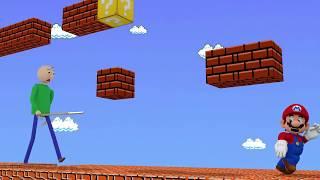 Baldi's Basics Vs Super Mario Bros