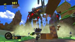 SONIC FORCES - STAGE 20 Green Hill Guardian Rock S-Rank Lightning W...