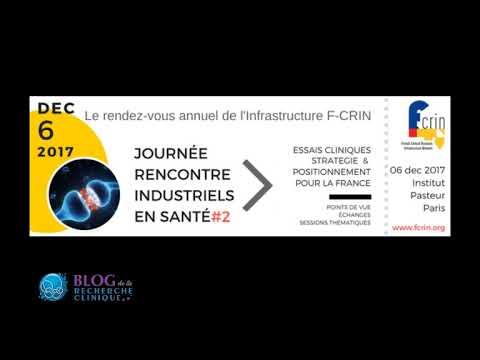 Interview  de Vincent Diebolt F-CRIN (Infrastructure Nationale de Recherche Clinique)