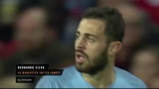 Bernardo Silva vs Manchester United (Away) 24.04.2019 HD 1080i