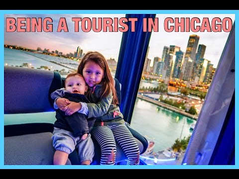 BEING A TOURIST IN CHICAGO! (10.7.16 - DAY 1022) THATSBETSYV
