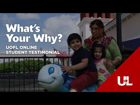 What's Your Why?: Sadia's Story - Online Organizational Leadership Degree