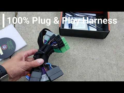 2016+ Nissan Titan 100% Plug & Play Remote Start Kit - ZERO WIRING!
