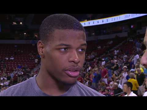 Dennis Smith Jr. Says Pace Biggest Adjustment From College To NBA Game | ESPN