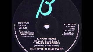 Electric Guitars - Night Bears