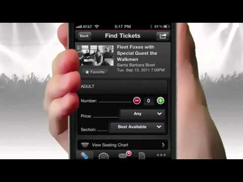 Get The Live Nation IPhone / Android App To Find Your Next Show & Get Tickets!
