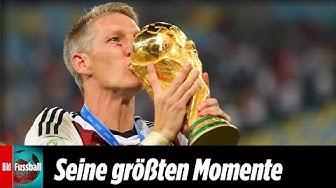 Bastian Schweinsteiger tritt zurück: Die größten Momente seiner Karriere