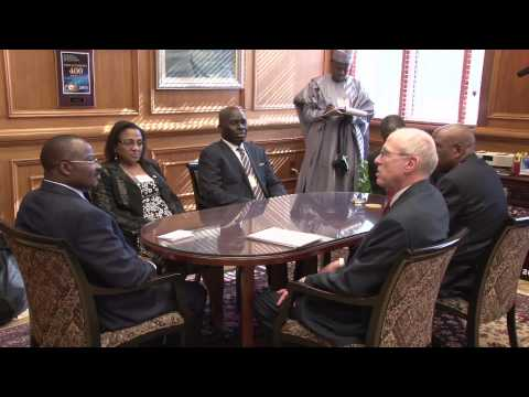 Texas Tech Officials Meet Executive Governor of Nigeria