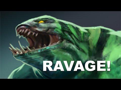 Alliance Tidehunter RAVAGE Is Back Vs SECRET Dota 2