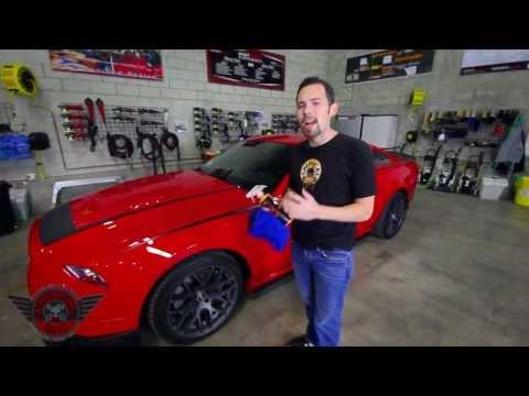 Hybrid V7 High Gloss Spray Sealant - Chemical Guys Detailing Mustang GT