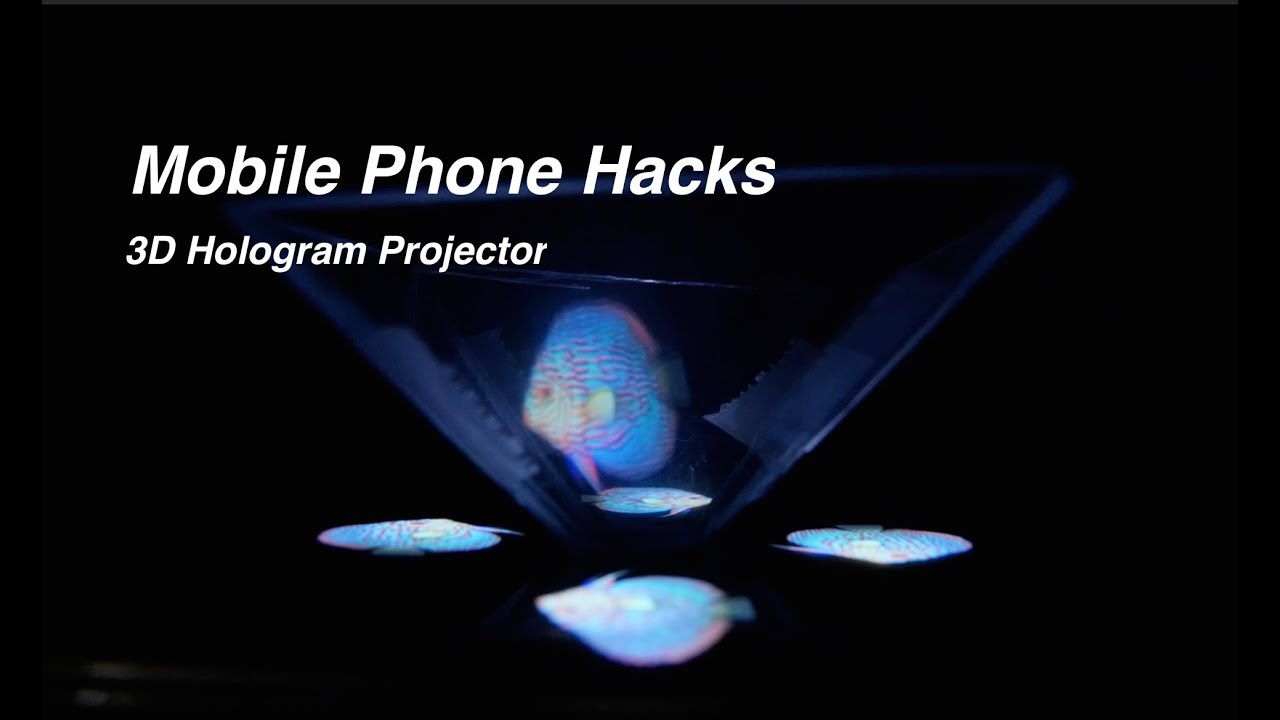 how to build a 3d hologram projector