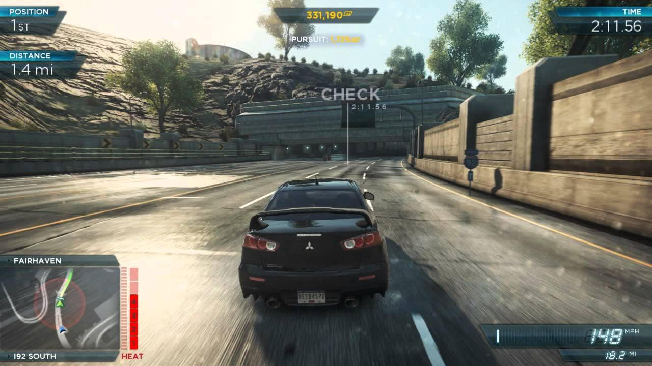 All Fast And Furious Cars >> Need For Speed Most Wanted 2012: Mitsubishi Lancer Evo X ...