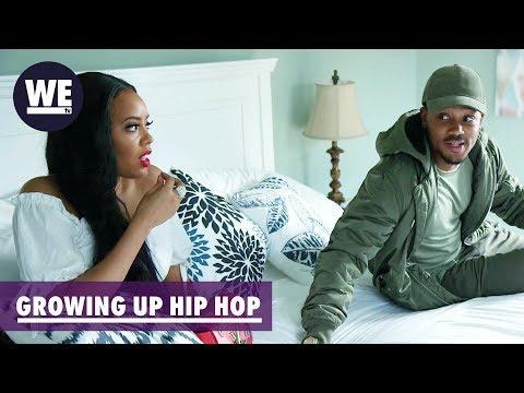 Romeo & Angela Reunite  Growing Up Hip Hop  WE tv