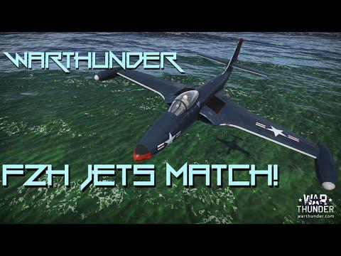 Warthunder ► F2H Banshee - First Jet Match