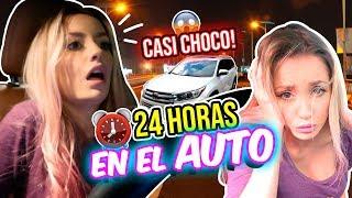 24 horas ENCERRADA en el CARRO!!! 😰¡No lo Hagan!🚗 | Katie Angel thumbnail
